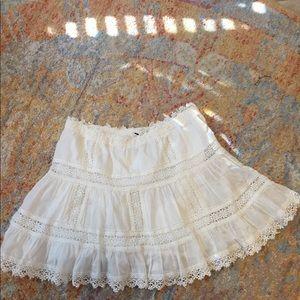 White Victoria's Secret skirt